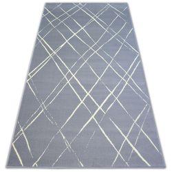 Ковер BCF BASE STROKES 3970 квадраты серый