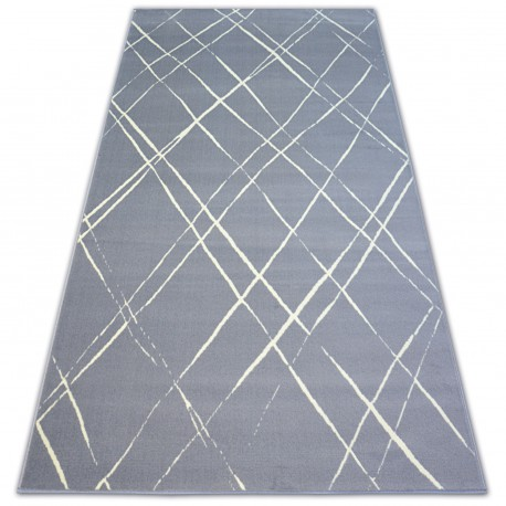 Teppich BCF BASE STROKES 3970 QUADRATE grau