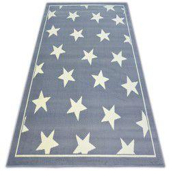 Tæppe BCF FLASH STARS 3975 STJERNER grå