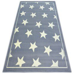 Teppich BCF FLASH STARS 3975 grau STERNE