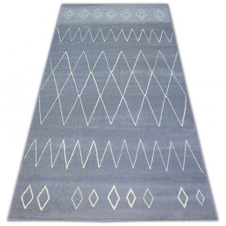 Carpet BCF BASE TRAIL 3967 DIAMONDS grey