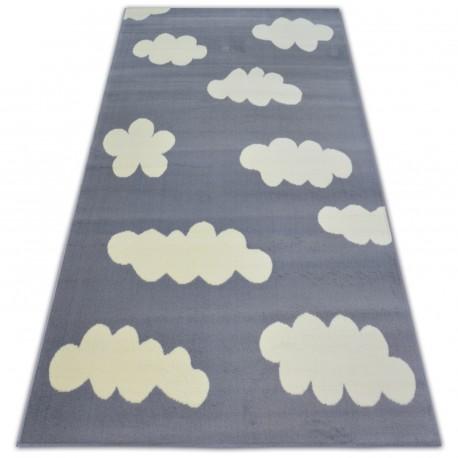 Ковер BCF FLASH облака 3978 ОБЛАКА серый