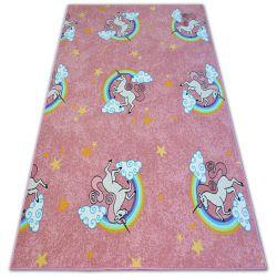 Dětský koberec UNICORN Jednorožec růžový
