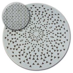 Fonott sizal flat szőnyeg kör48715/768 ÓLOMÜVEG