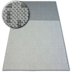 Matta FLAT 48722/637 Two-colour - grädde grå