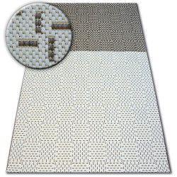 Килим шнуровий SIZAL FLAT 48722/608 двоколірний кремовий коричневий