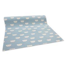 Antiscivolo moquette tappeto per bambini CLOUDS blu