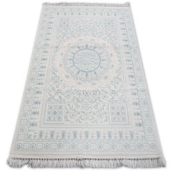 Carpet ACRYLIC MIRADA 5409 Blue ( Mavi ) Fringe