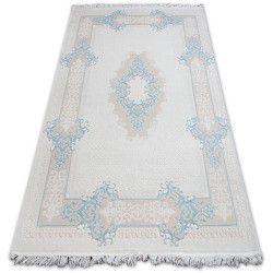 Carpet ACRYLIC MIRADA 5417 Blue ( Mavi ) Fringe