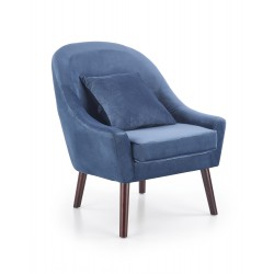 Fauteuil OPALE bleu foncé
