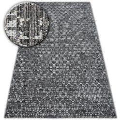 Sisaltæppe SISAL LOFT 21145 BOHO elfenben/sølv/grå