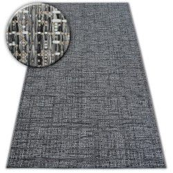 Teppich SISAL LOFT 21126 MELANGE silber/elfenbein/grau