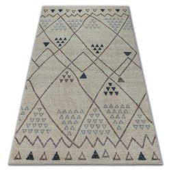 Carpet SOFT 2554 ETHNO cream / light grey