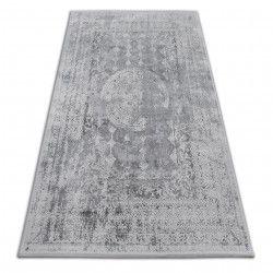 Akril valencia szőnyeg 2328 ORNAMENT sötét szürke / elefántcsont
