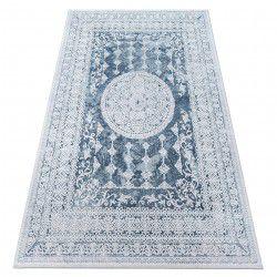 Teppich ACRYL VALENCIA 2328 ORNAMENT Blau / Elfenbein