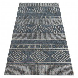 Carpet SOFT 8040 AZTEC BOHO grey