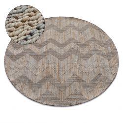 Nature szőnyeg kör SL100 bézs SIZAL boho