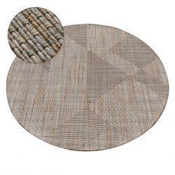 Kulatý koberec NATURE SL110 béžový SISAL BOHO