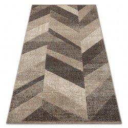 Feel szőnyeg 5673/15055 HALSZÁLKÁS bézs / barna / krém