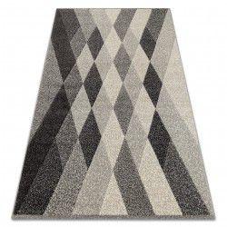 Matta FEEL 5674/16811 DIAMONDS grå / antracit / grädde