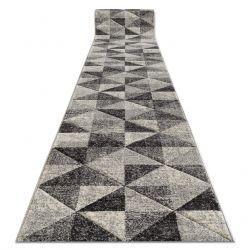 Tapis de couloir FEEL 5672/16811 TRIANGLES gris / anthracite / crème