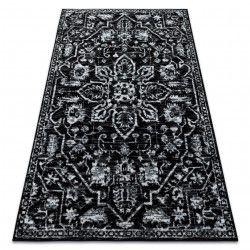 Koberec RETRO HE184 černý / krémový Vintage