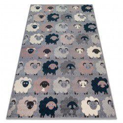 Carpet HEOS 78468 grey / blue SHEEPS