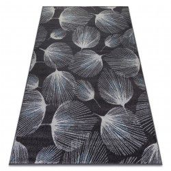 Carpet HEOS 78545 anthracite / blue FEATHERS