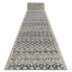 Alfombra de pasillo BERBER AGADIR G0522 crema Bereber Marroquí Shaggy