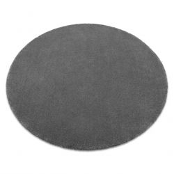 TAPIS cercle STAR gris
