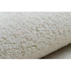 Carpet wall-to-wall VELVET MICRO cream 031 plain, flat, one colour
