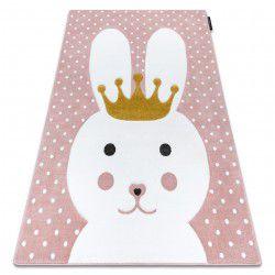 Carpet PETIT BUNNY rabbit pink