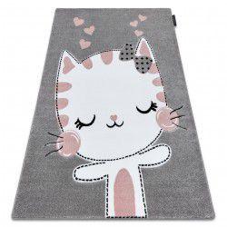 Koberec PETIT Koťátko, šedý