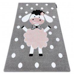 Tapis PETIT DOLLY mouton gris