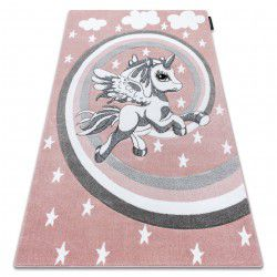 Koberec PETIT PONY poník růžový