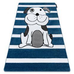 Carpet PETIT PUPPY blue