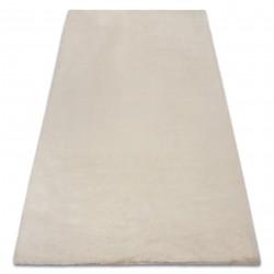 Carpet BUNNY beige IMITATION OF RABBIT FUR