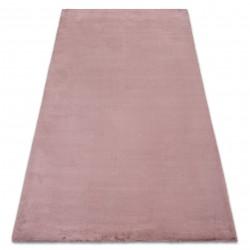 Tepih BUNNY ružičasta Oponašanje zečjeg krzna
