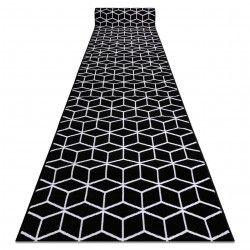 CHODNIK BCF ANNA Cube 2959 czarny sześcian hexagon