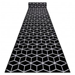Runner BCF ANNA Cube 2959 black hexagon