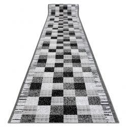 CHODNIK BCF ANNA Squares 2954 szary kwadraty