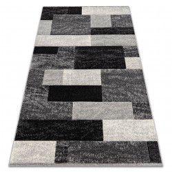 Tæppe FEEL 5756/16811 REKTANGLER grå
