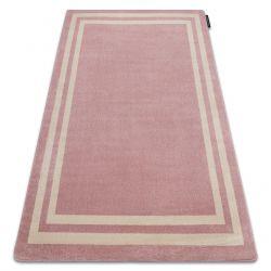 Teppich HAMPTON Rahmen rosa