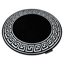 Tapis HAMPTON Grecos cercle noir