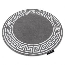 Tapis HAMPTON Grecos cercle gris