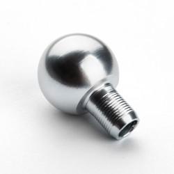 Окончание к стержням лестничным цвет : серебро