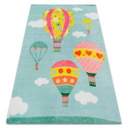 Carpet PLAY Balloons clouds G3426-2 green