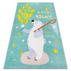 Carpet PLAY Bear stars G4016-1 green