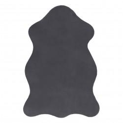 Carpet NEW DOLLY skin G4337-2 grey anthracite IMITATION OF RABBIT FUR