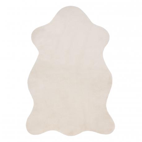 Carpet NEW DOLLY skin G4337-5 beige IMITATION OF RABBIT FUR